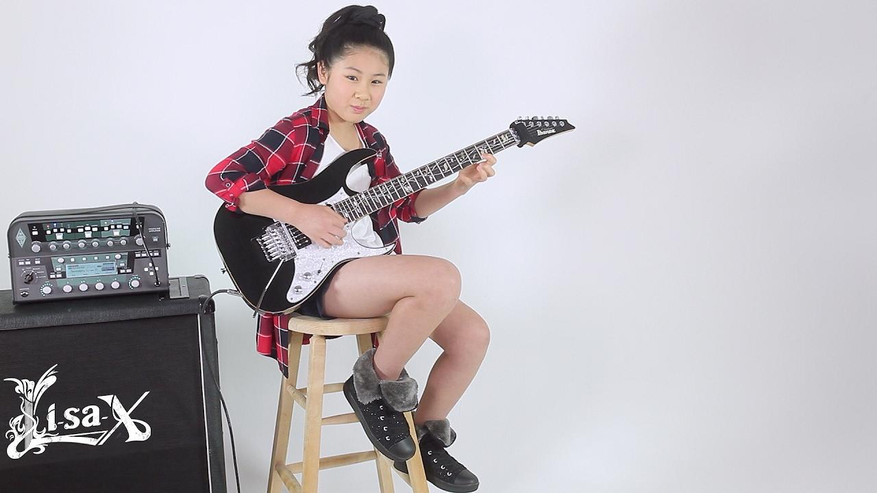 Li-sa-X(りーさーX) 少女の凄いギターテクお父さんは?本名は?